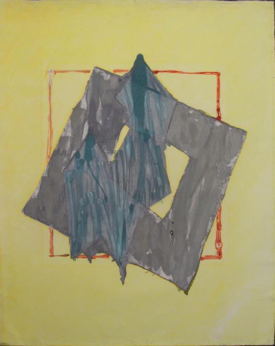 SMITH, Richard. Watercolor with Intaglio. Untitled