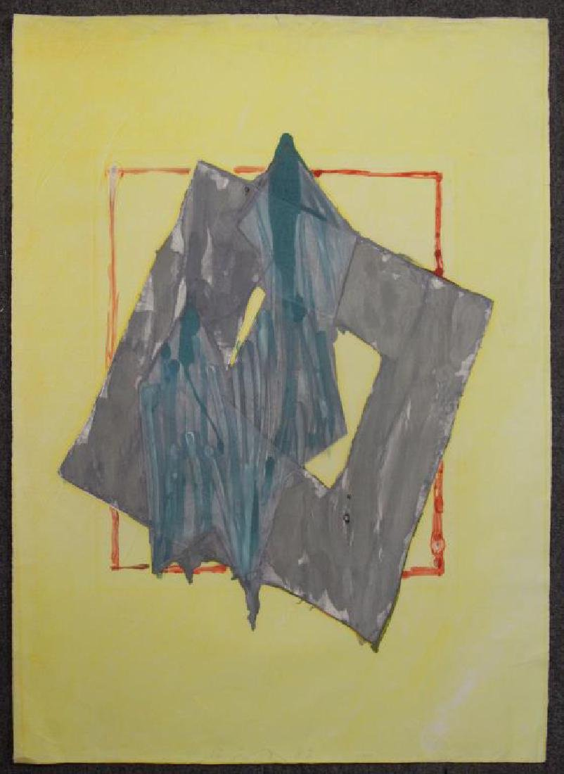 SMITH, Richard. Watercolor with Intaglio. Untitled - 2