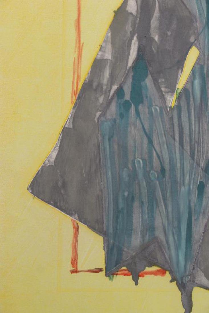 SMITH, Richard. Watercolor with Intaglio. Untitled - 3