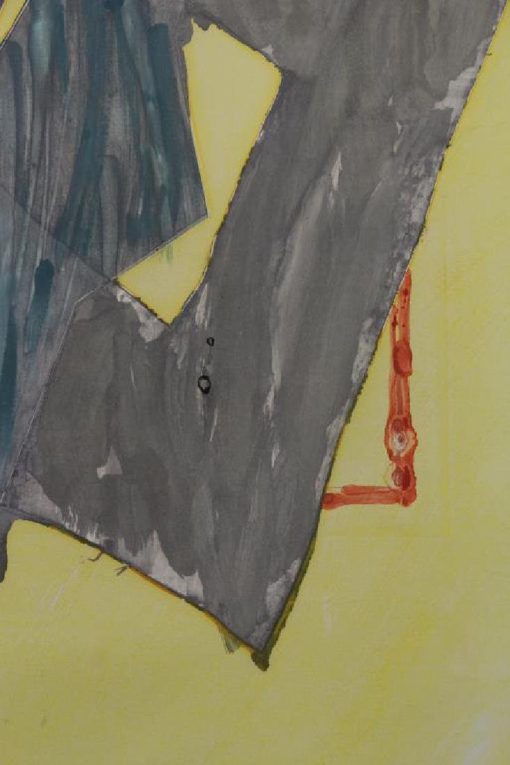 SMITH, Richard. Watercolor with Intaglio. Untitled - 4