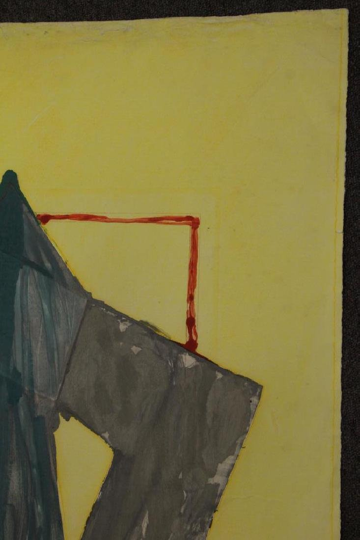 SMITH, Richard. Watercolor with Intaglio. Untitled - 9