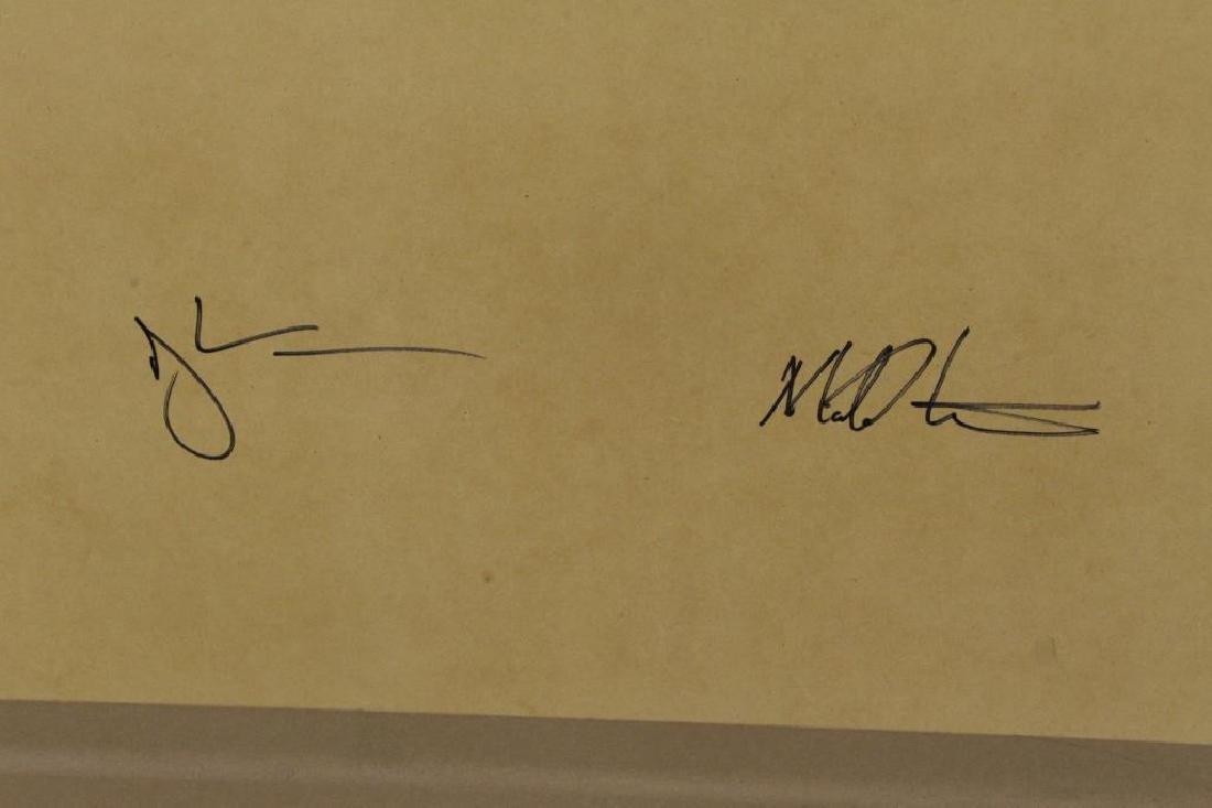 "STARN, Mike and Doug. ""Black Pulse #11"" Inkjet - 8"