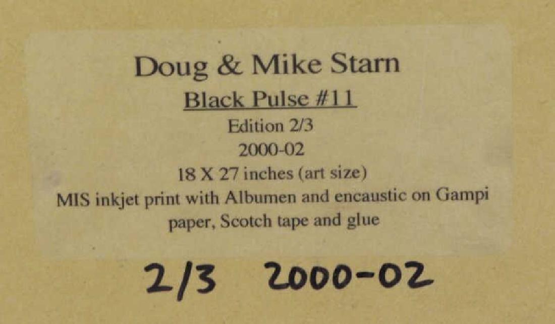 "STARN, Mike and Doug. ""Black Pulse #11"" Inkjet - 9"