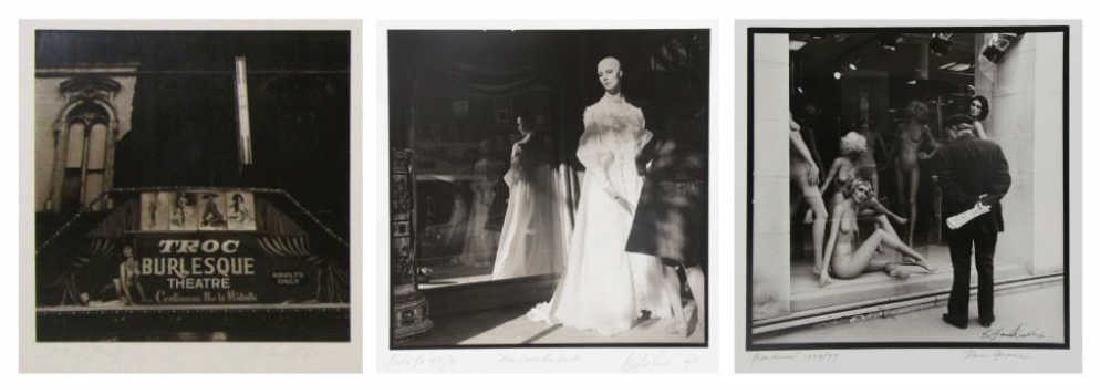 HENDRICKS, Barkley. Lot of 3 Gelatin Silver Prints