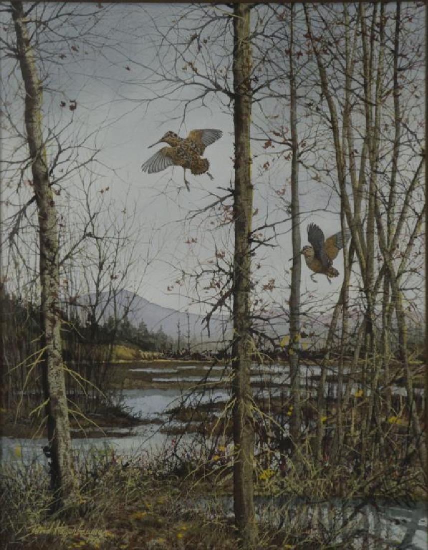 HAGERBAUM, David. Watercolor on Paper. Marsh