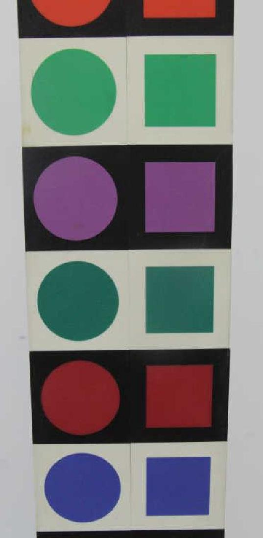 "VASARELEY, Victor. ""NBC 35"". Wood with Plastic - 7"