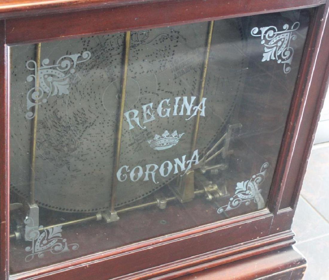 "REGINA. ""Corona No. 34"" Stand Up Disc Player In - 4"