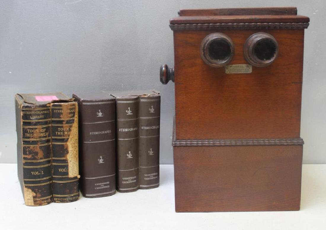 BECKER Patent Stereo Viewer together with