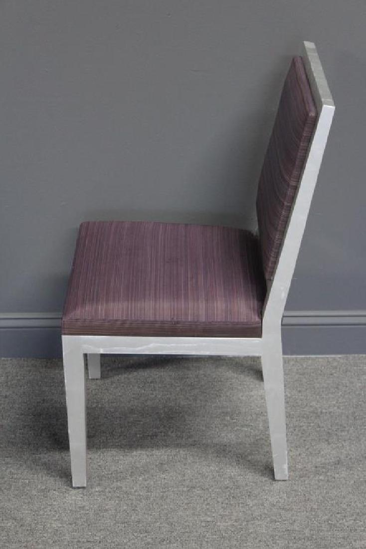 10 Christian Liagre / Holly Hunt Silver Gilt Chair - 2