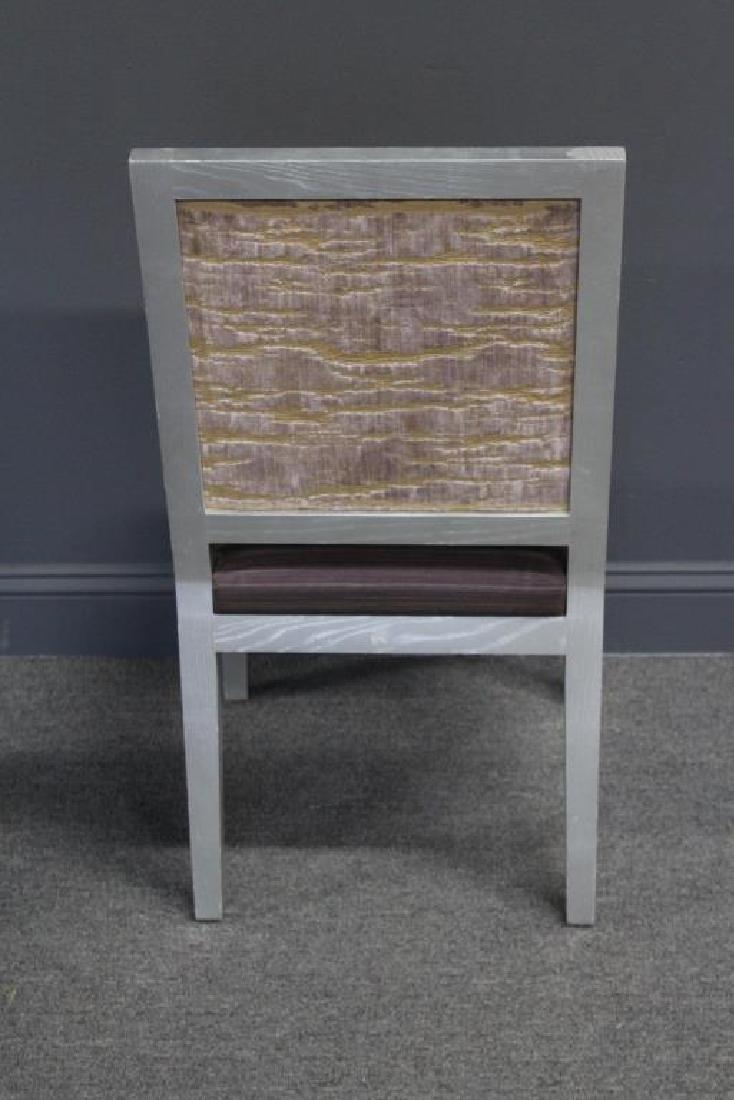 10 Christian Liagre / Holly Hunt Silver Gilt Chair - 4
