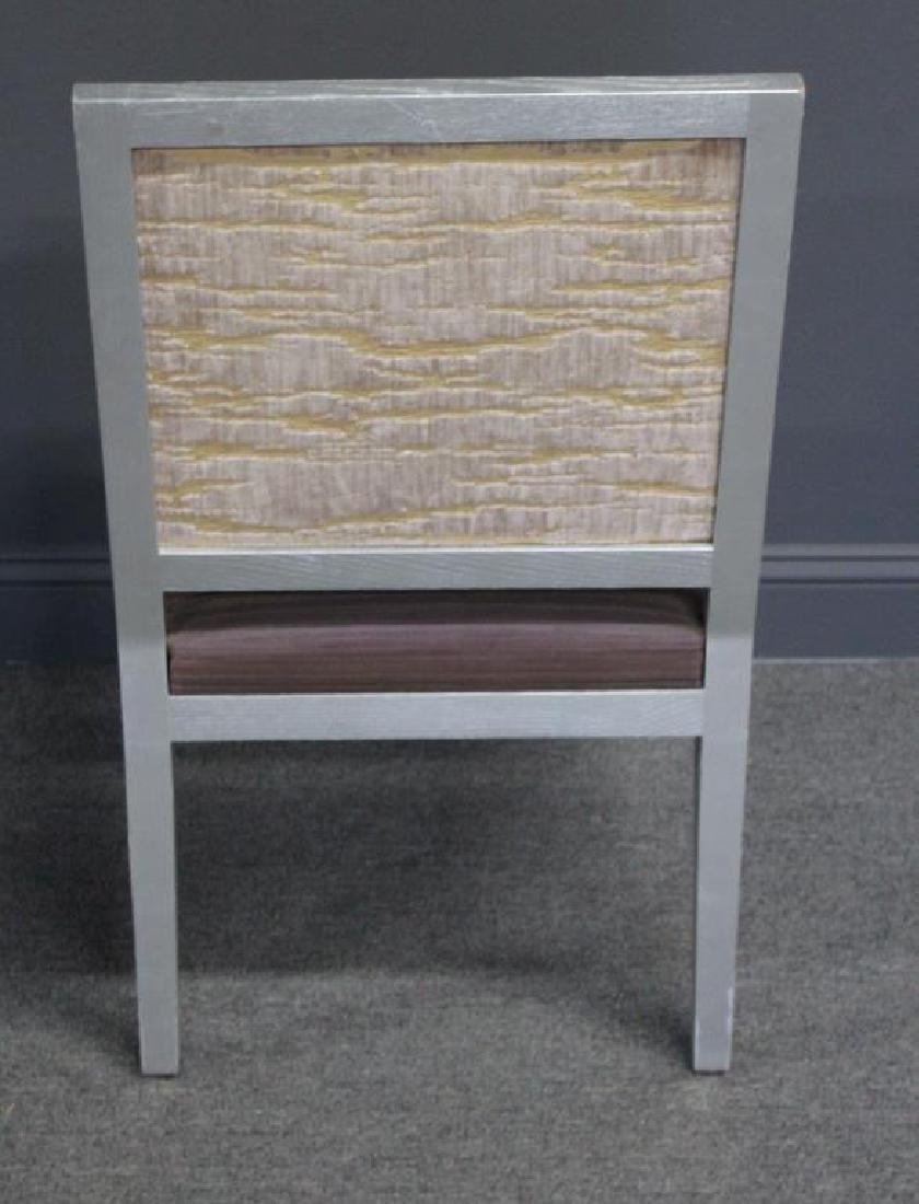 10 Christian Liagre / Holly Hunt Silver Gilt Chair - 7
