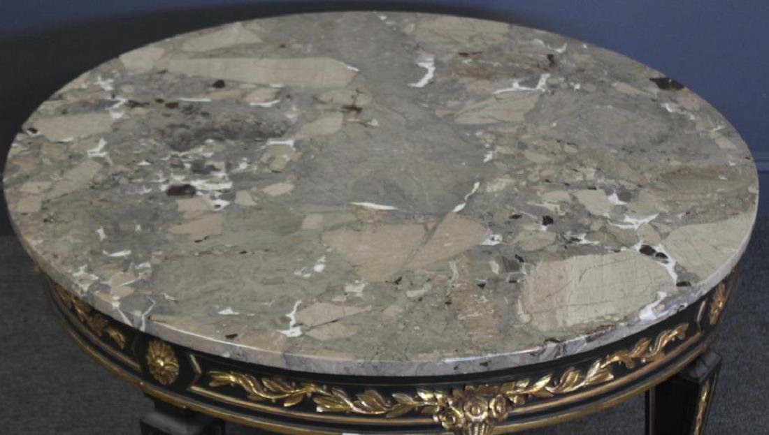 Louis Phillippe Style Carved, Paint and Gilt - 2