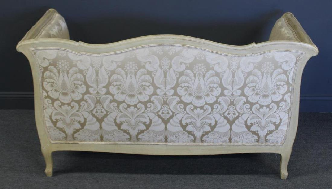 Louis XV Style Paint Decorated and Down Filled - 4