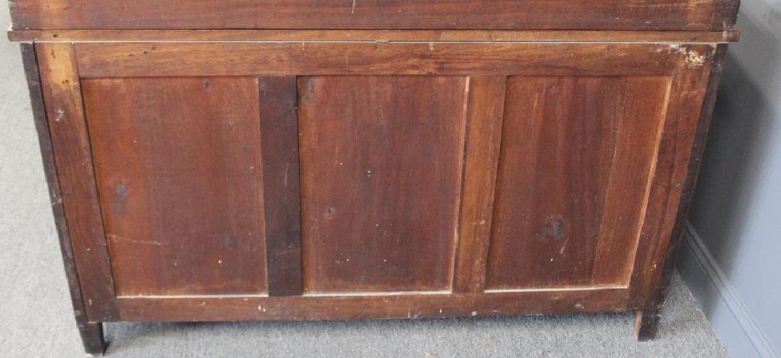 Antique Parquetry Inlaid Commode With Back Splash. - 6