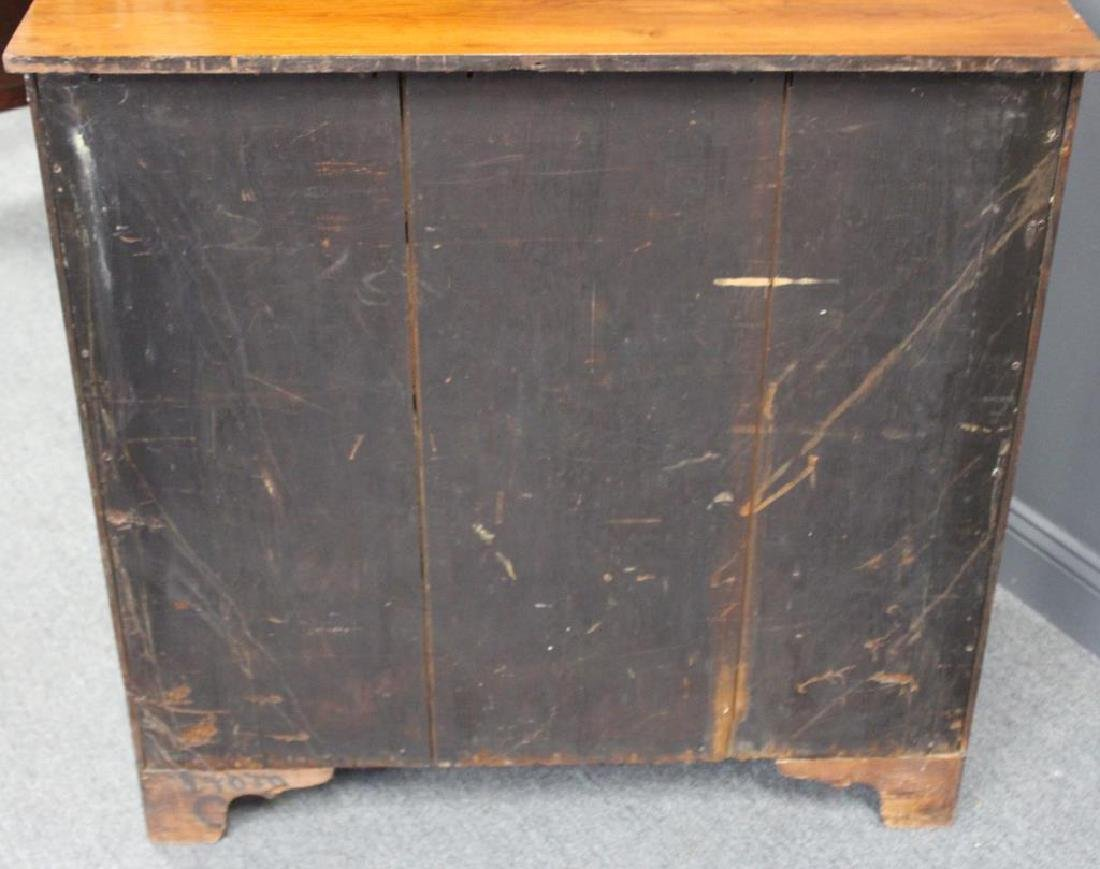 Antique Cherry Wood American Chest. - 6