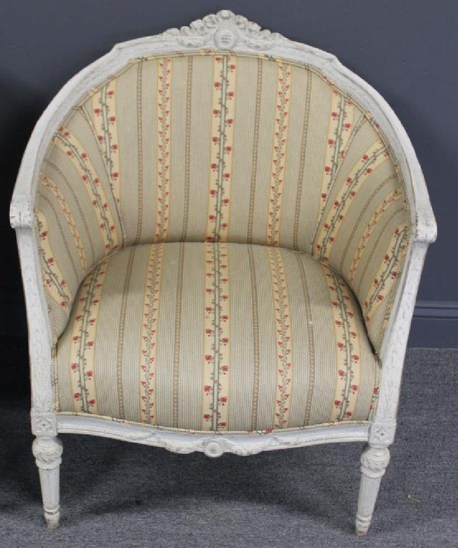 Pair of Vintage and Quality Louis XV Style Bergere - 2
