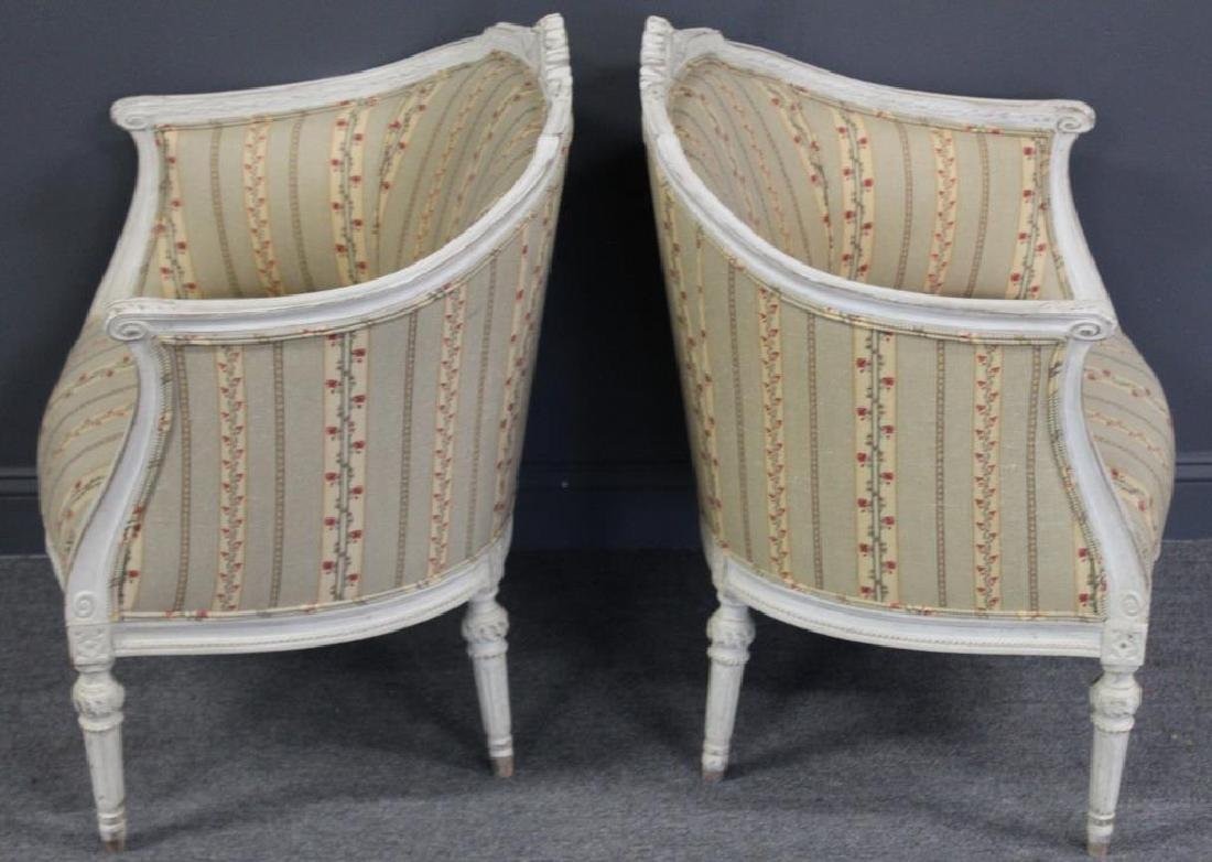 Pair of Vintage and Quality Louis XV Style Bergere - 4