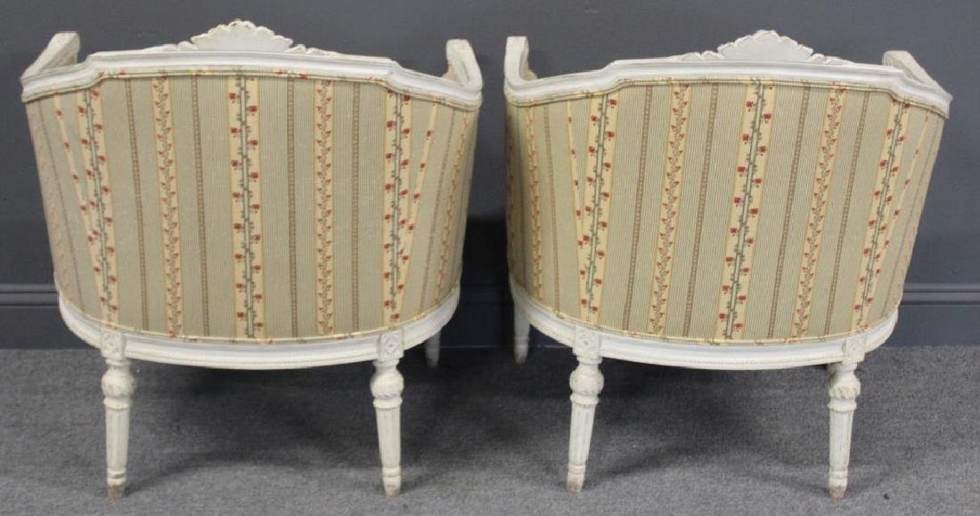 Pair of Vintage and Quality Louis XV Style Bergere - 5
