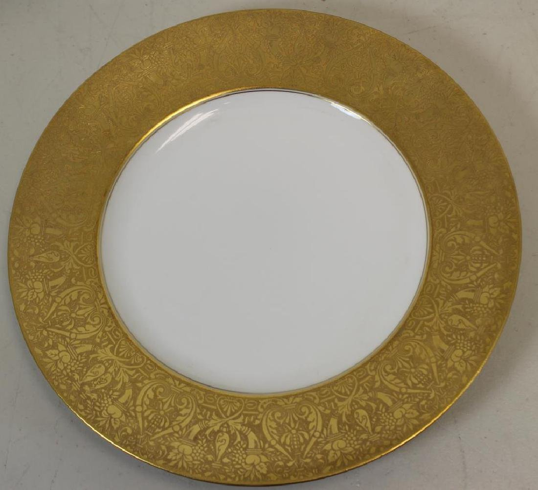 HEUTCHENREUTHER. Set of 10 Gilt Trim - 2