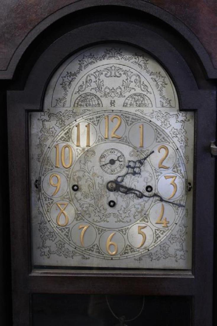 Antique Mahogany Tallcase Clock. - 2