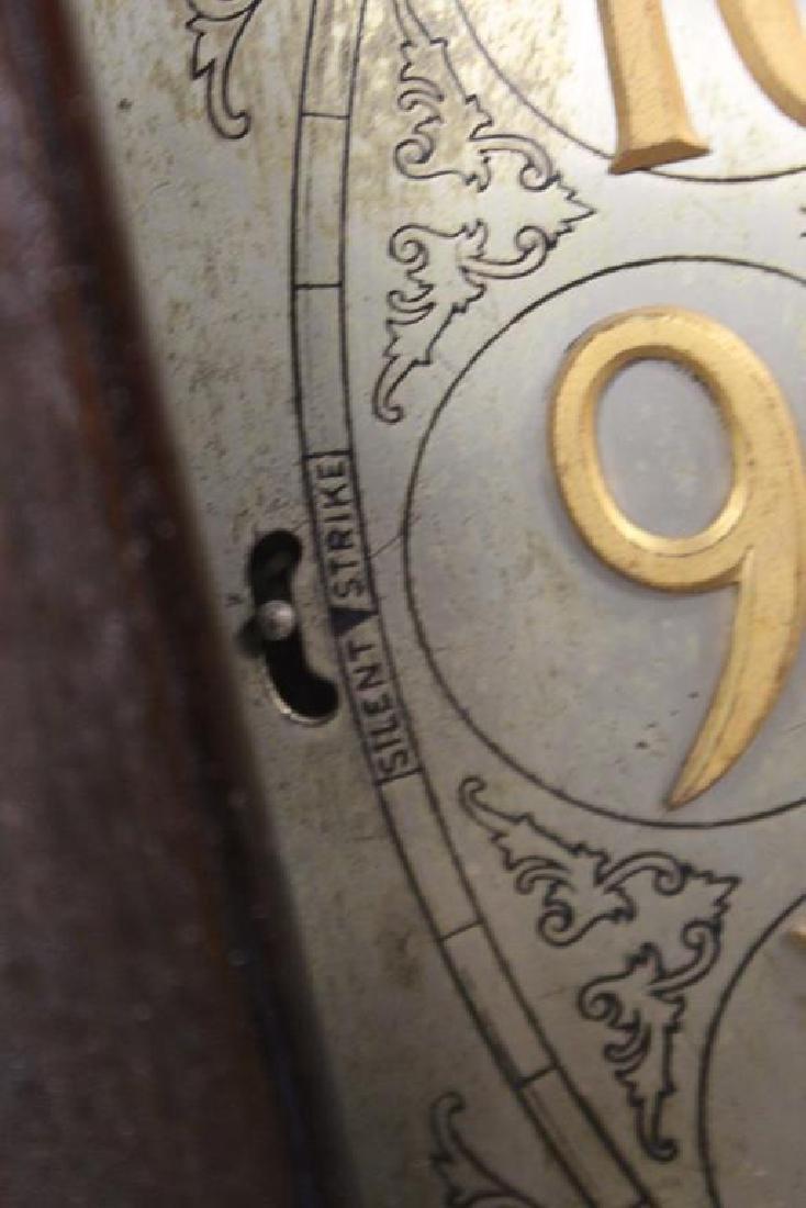 Antique Mahogany Tallcase Clock. - 3