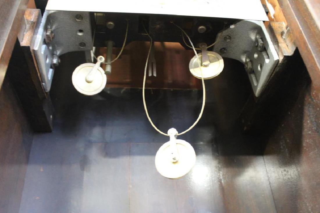 Antique Mahogany Tallcase Clock. - 4