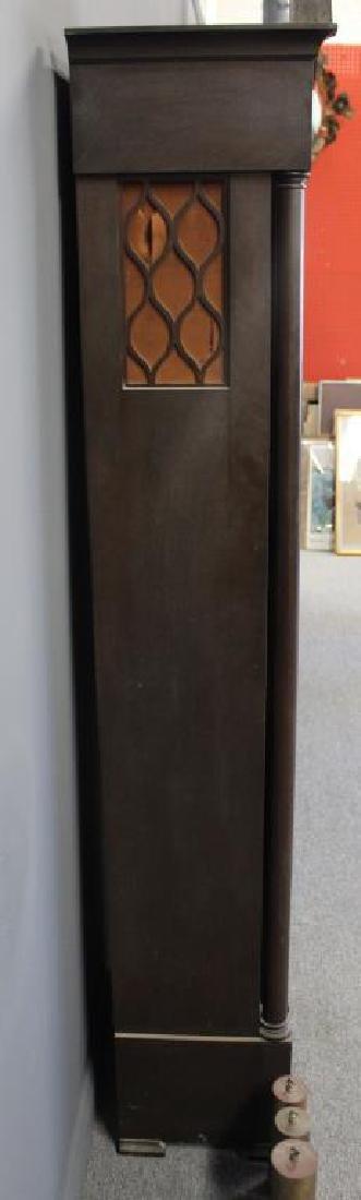 Antique Mahogany Tallcase Clock. - 5