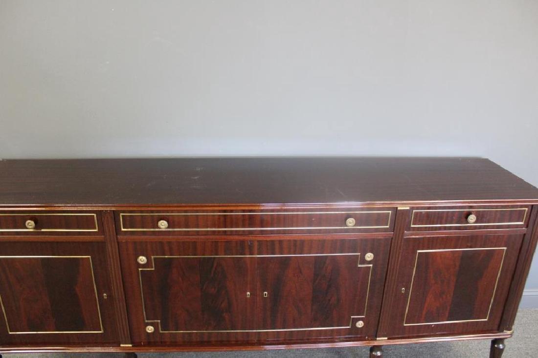 Louis XV1 Style Mahogany Marbletop Server . - 6