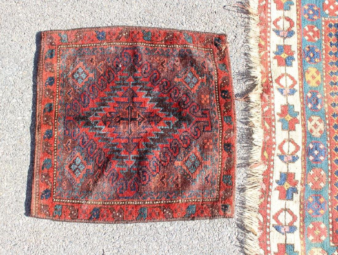 Lot Of Antique Finely Handwoven Area Carpets and 2 - 2