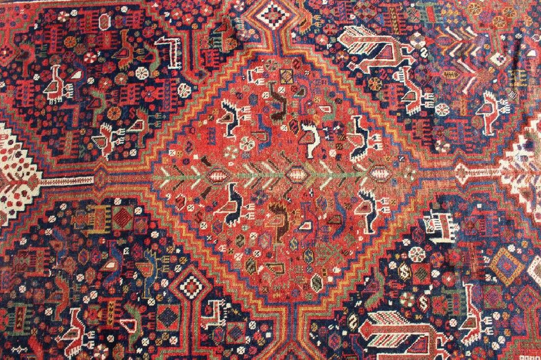 Antique and Finely Handwoven Kazak Style Carpet - 2