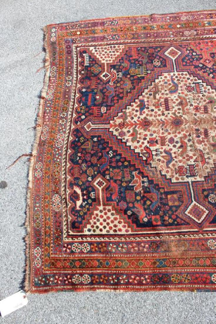 Antique and Finely Handwoven Kazak Style Carpet - 3