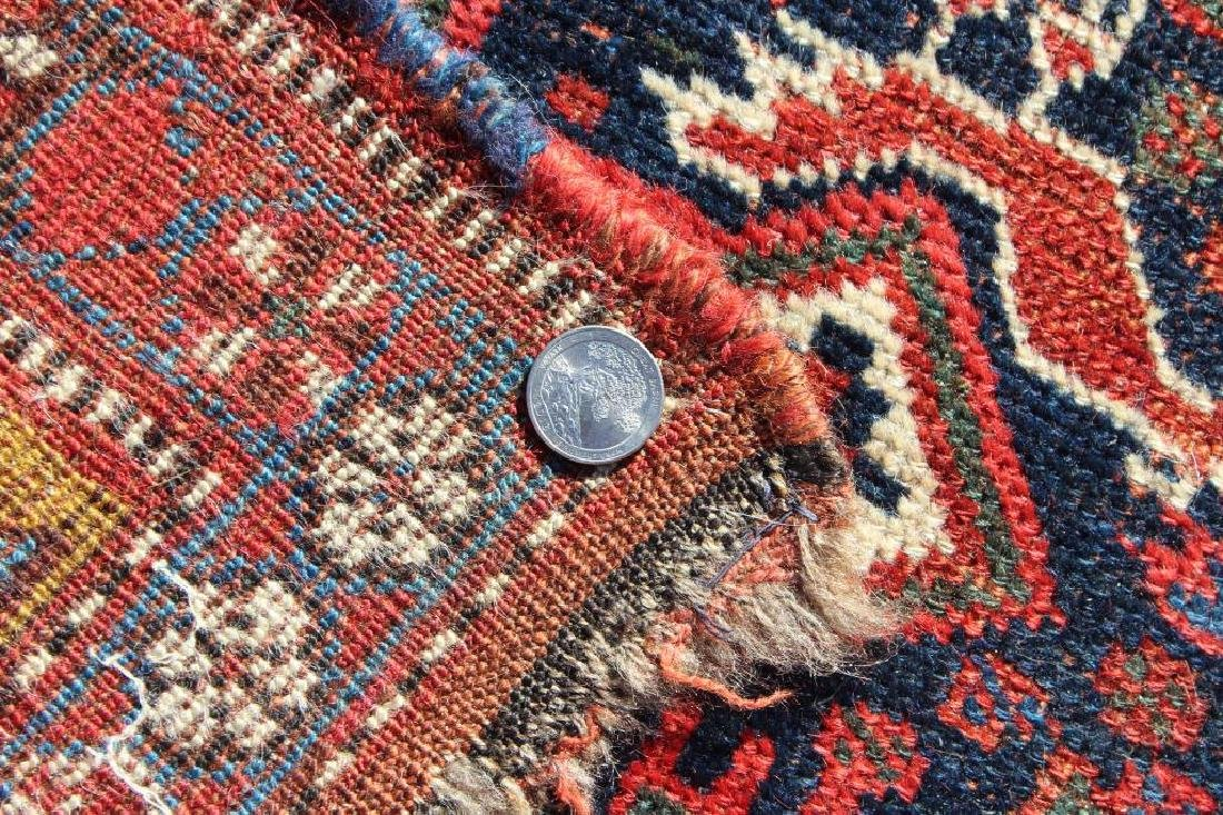 Antique and Finely Handwoven Kazak Style Carpet - 4