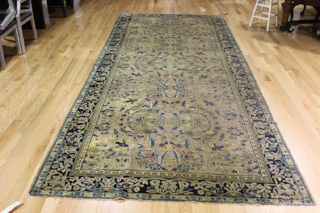 Antique and Finely Handwoven Carpet.