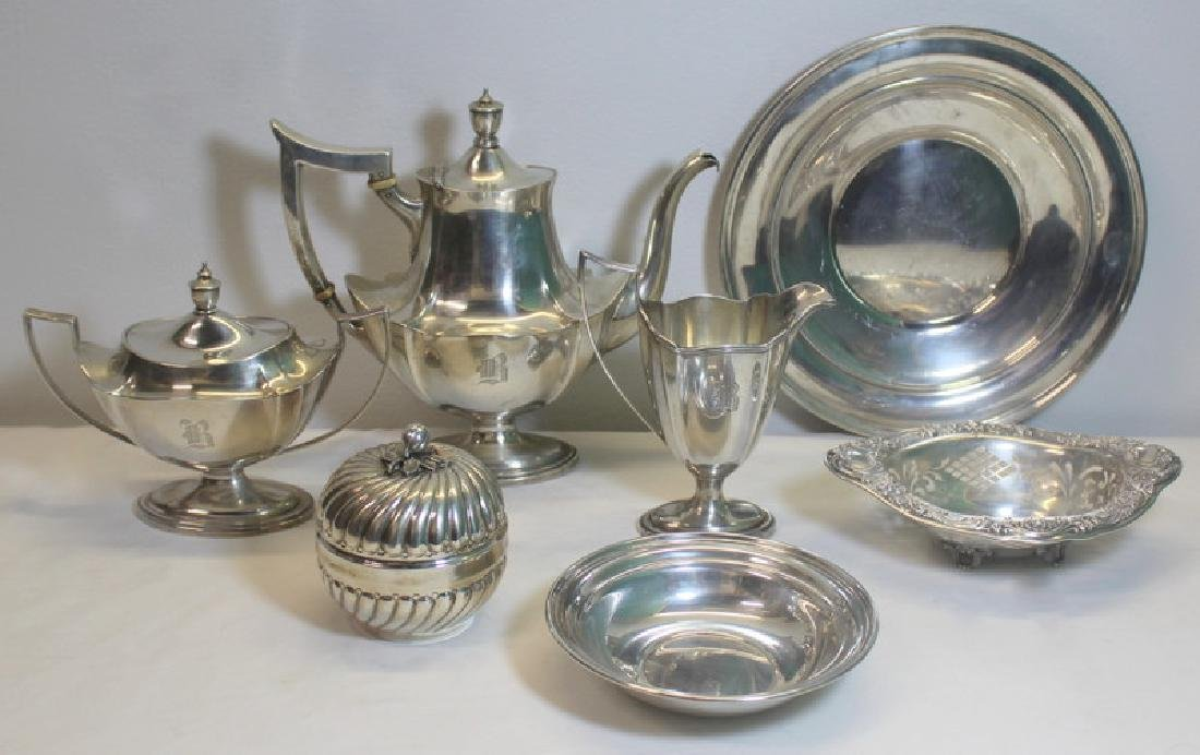 STERLING. Grouping of Assorted Sterling Items.