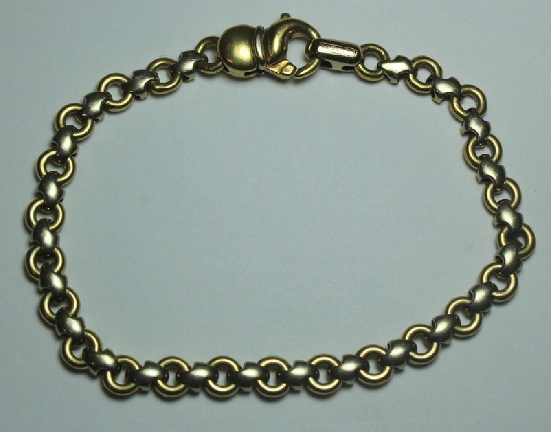 JEWELRY. Chimento Italian 18kt Gold Bracelet.