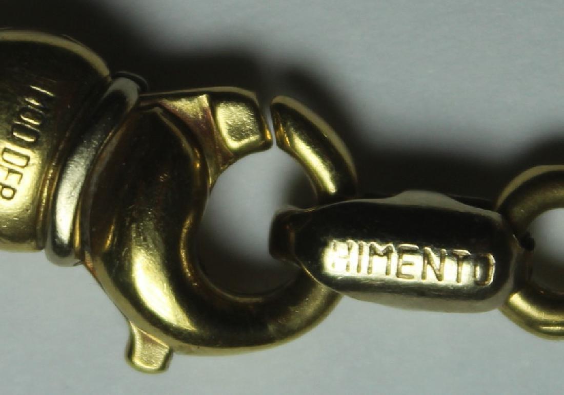 JEWELRY. Chimento Italian 18kt Gold Bracelet. - 3