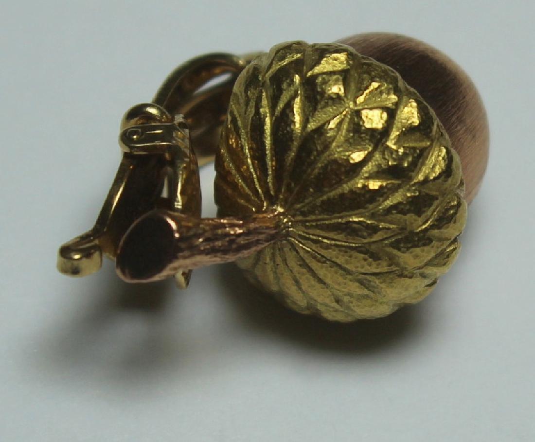 JEWELRY. Buccelatti STYLE 14kt Gold Acorn Form Ear - 4