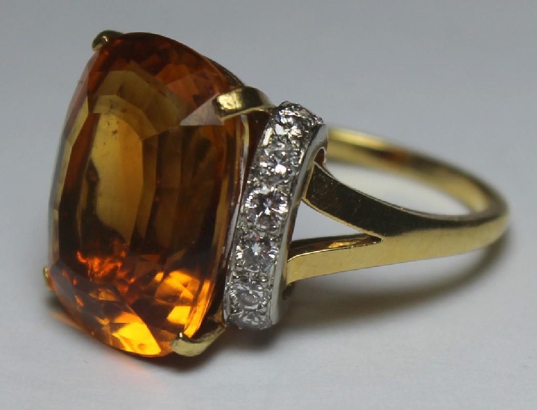 JEWELRY. Tiffany & Co. Platinum, 18kt Gold, Topaz, - 3