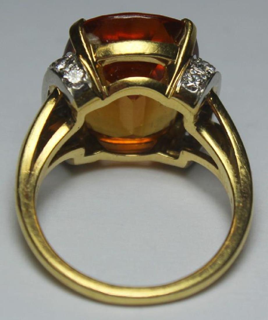 JEWELRY. Tiffany & Co. Platinum, 18kt Gold, Topaz, - 4