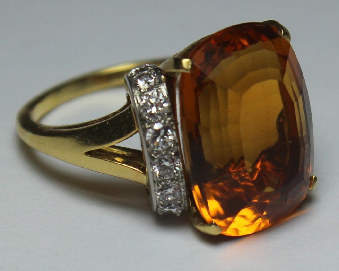 JEWELRY. Tiffany & Co. Platinum, 18kt Gold, Topaz, - 5