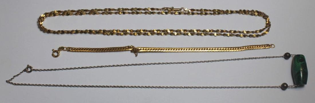 JEWELRY. Assorted Ladies Jewelry Grouping Inc Gold - 7