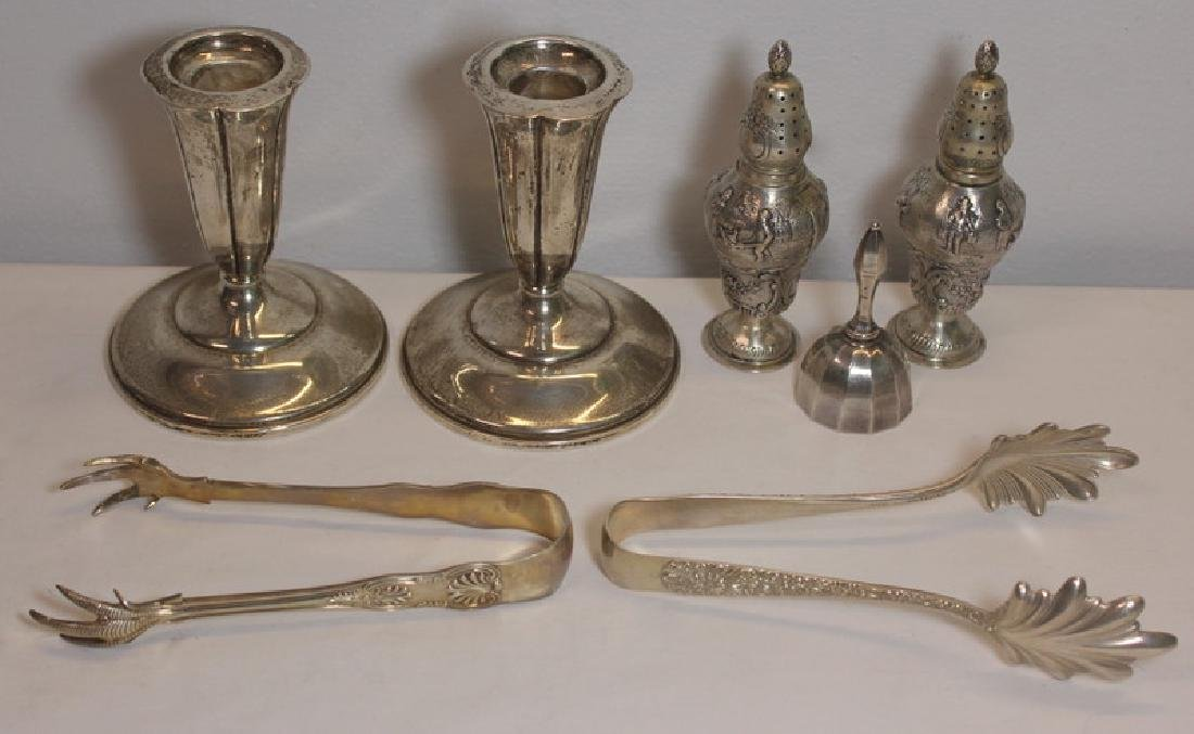 SILVER. Grouping of Assorted Sterling and Silver. - 10