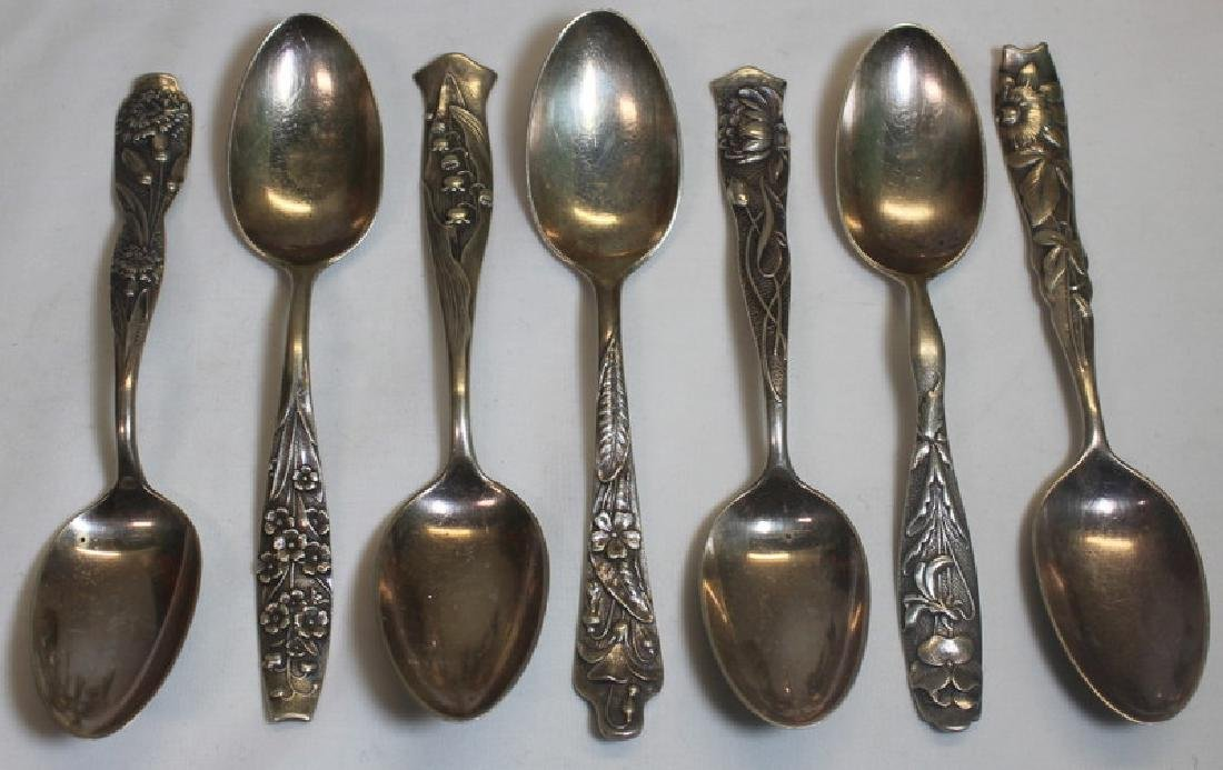 SILVER. Grouping of Assorted Sterling and Silver. - 2