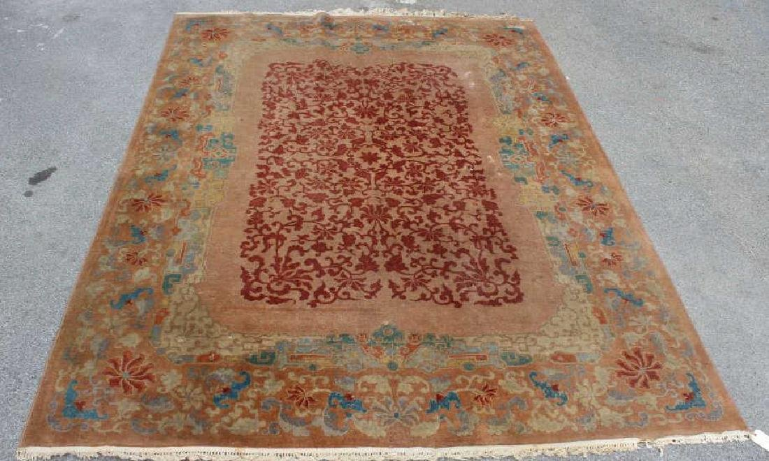 Art Deco and Finely Woven Chinese Carpet