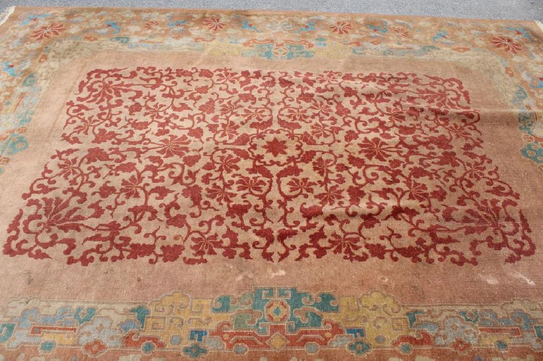 Art Deco and Finely Woven Chinese Carpet - 2