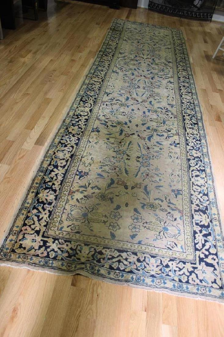 Finely Hand Woven Antique Runner.