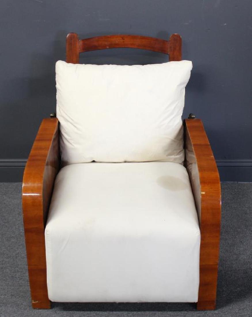 Art Deco Recliner Chair.