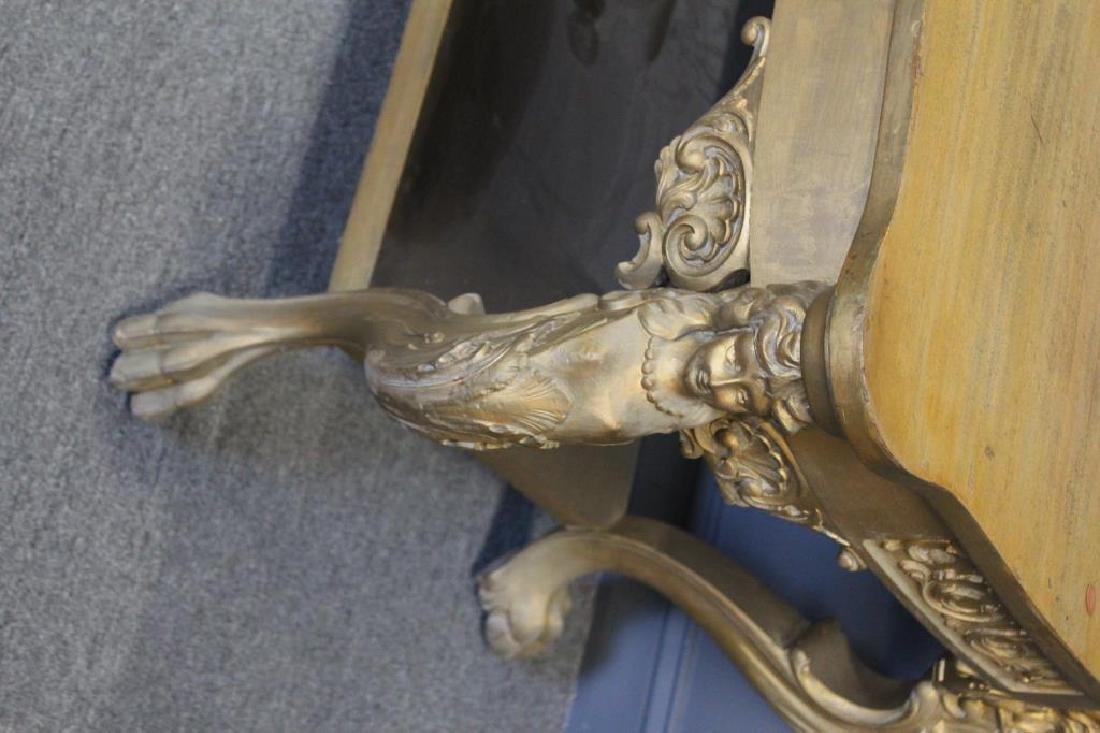 Possibly Horner Figural Carved Desk. - 2