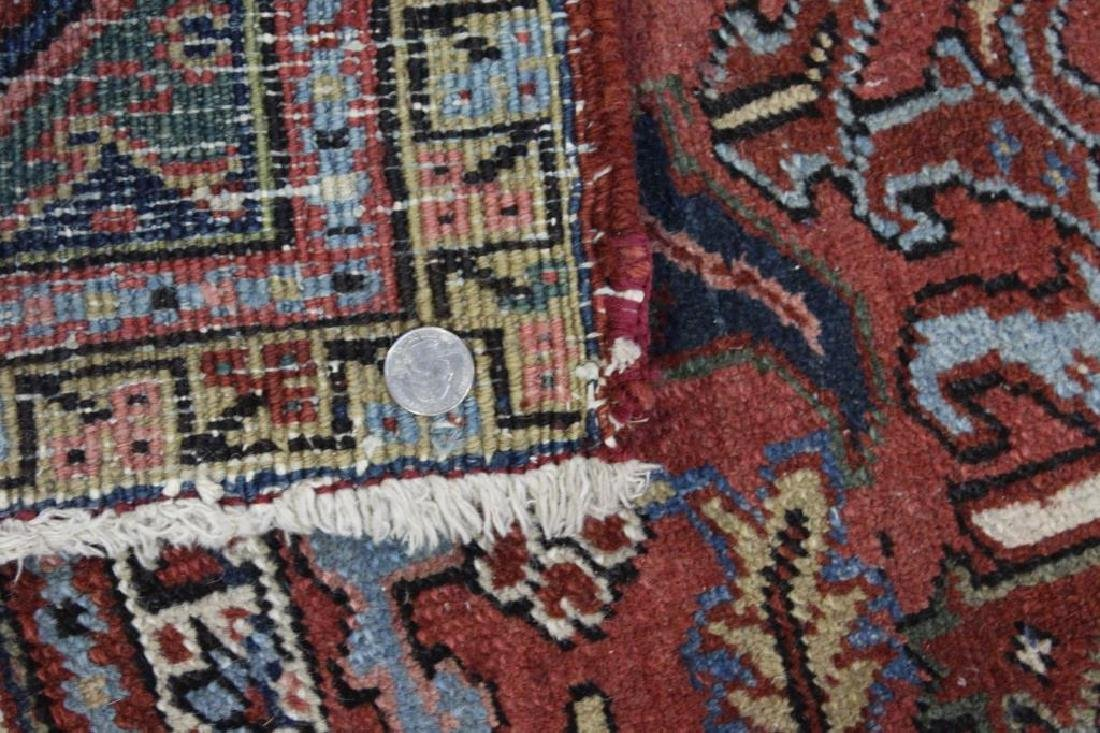 Antique and Finely Handwoven Heriz Carpet. - 6
