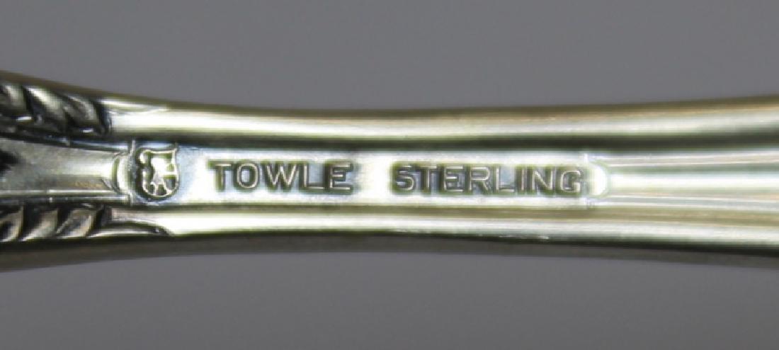 STERLING. Towle King Richard Flatware Service. - 5